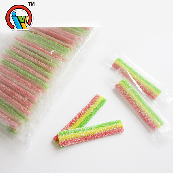 fruity gummy belt candy