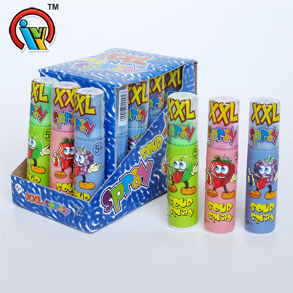 fruity spray liquid candy