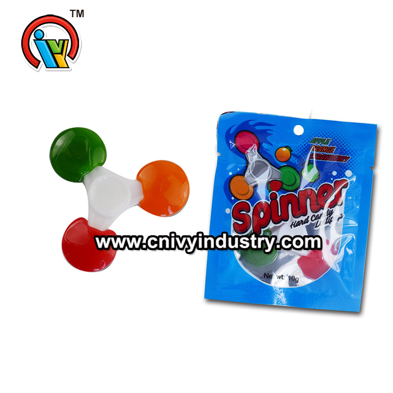 Finger spinner lollipop candy