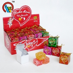 packing gift fruity gummy jelly candy