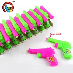 Gun shape fruity spray liquid candy