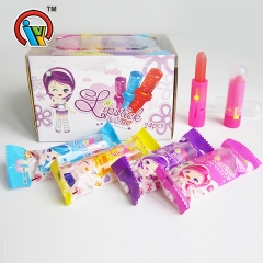 fruity lipstick sugar lollipop candy