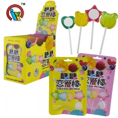 fruity lollipop candy