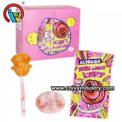 fluorescent lollipop