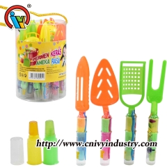 kitchen utensils finger lollipops