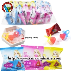 ring lollipop candy